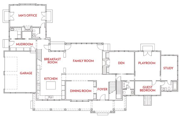 modern family weston home renovation home renovationsfloor planshouse - Modern Family House Plans