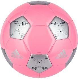 pink soccer ball adidas