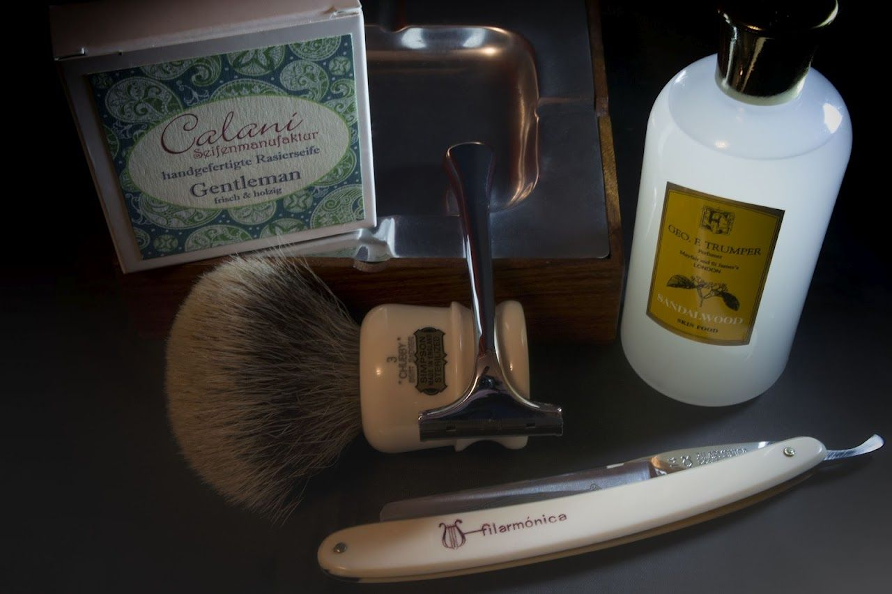 Afeitado clásico (07/08/2012)