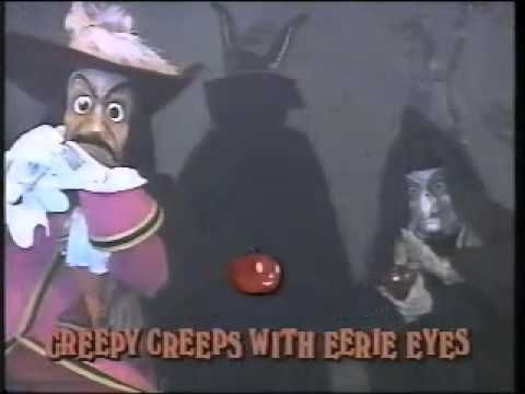 disney sing along songs 1990 disneyland fun grim grinning ghosts still love it