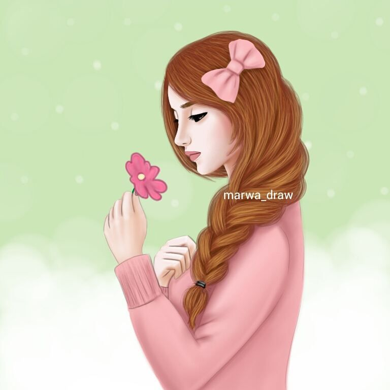 صور رسم بنات كرتون رمزيات رسومات انمي للانستقرام Girls Cartoon Art Cute Girl Drawing Girly M
