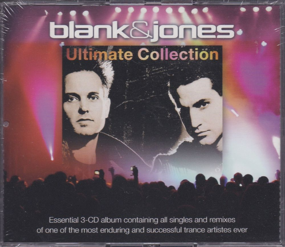 BLANK & JONES Ultimate Collection 3CD Discography Remixes Non-Stop Oliver Homm
