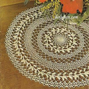 Photo of Free Crochet – Wreath of Victory Doily Pattern …