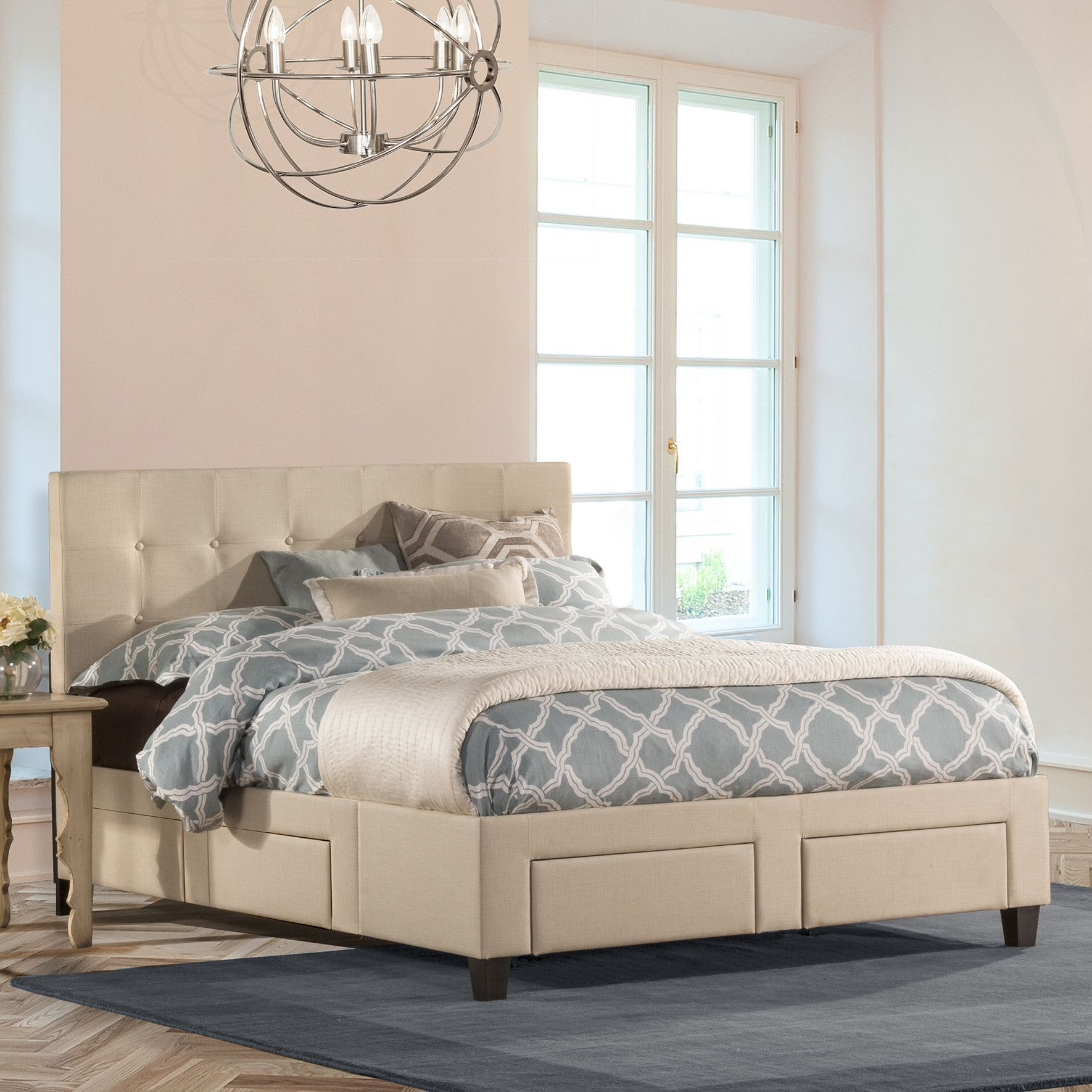 Hayton Storage Panel Bed