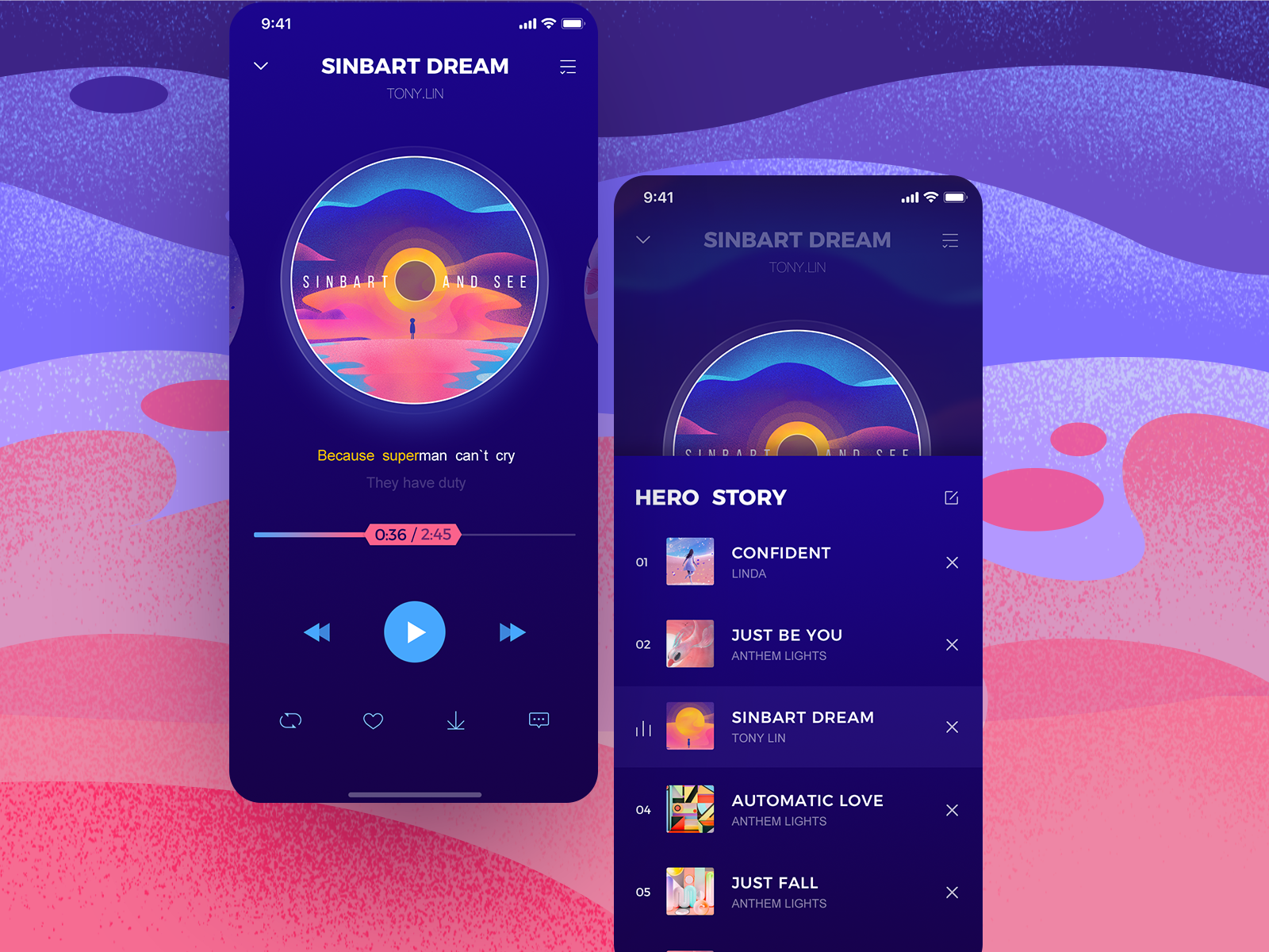 Color Music Music Coloring Android Design Music App