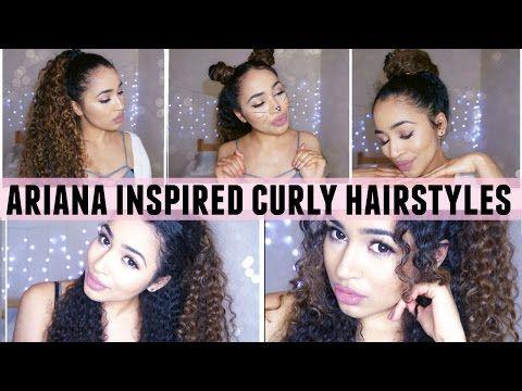Ariana Grande inspirierte lockige Frisuren! – Youtube