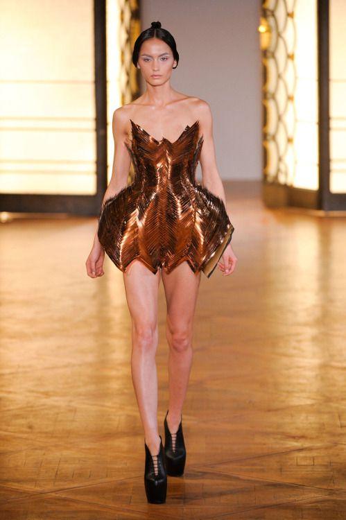 "modelmofos: ""Kelsey Rogers @ Iris Van Noten Haute Couture F/W 2012-13, Paris """