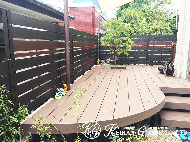 ビフォーアフターの施工事例 Fence Outdoor Outdoor Decor