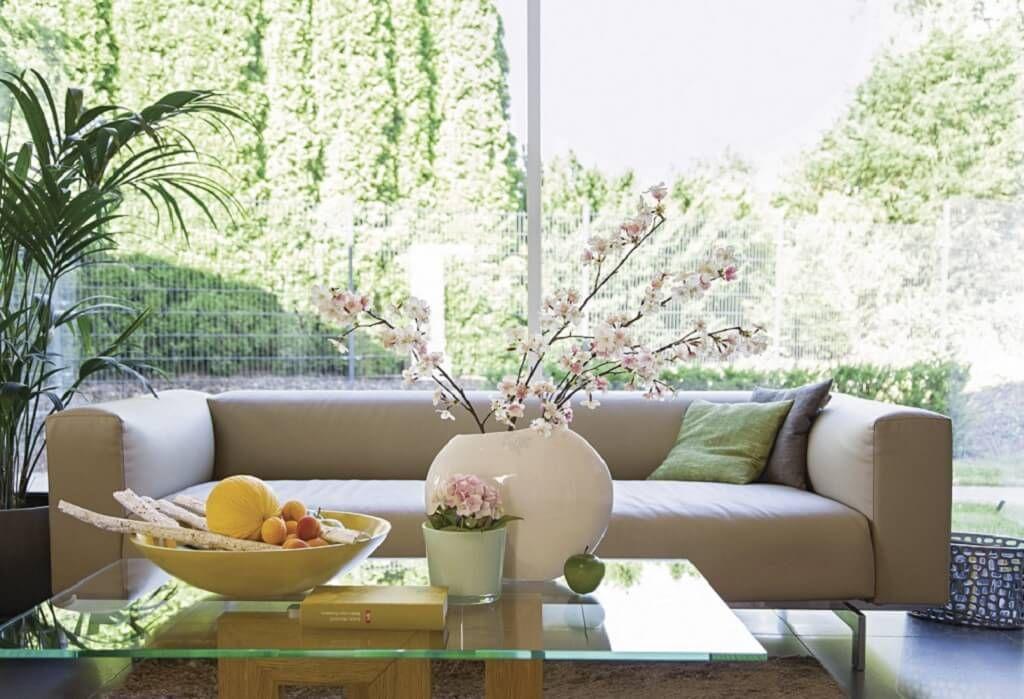 Wohnzimmer Ideen Dekoration Couch Tisch City Life - Haus - wohnzimmer grau rosa