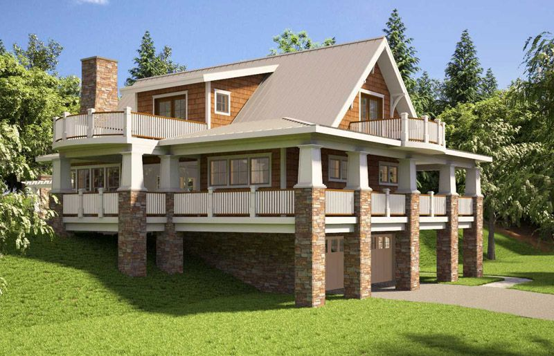 Basement House Designs. The Beautiful Cottage House Plan from Designers is a cozy  Craftsman under 2 000 square