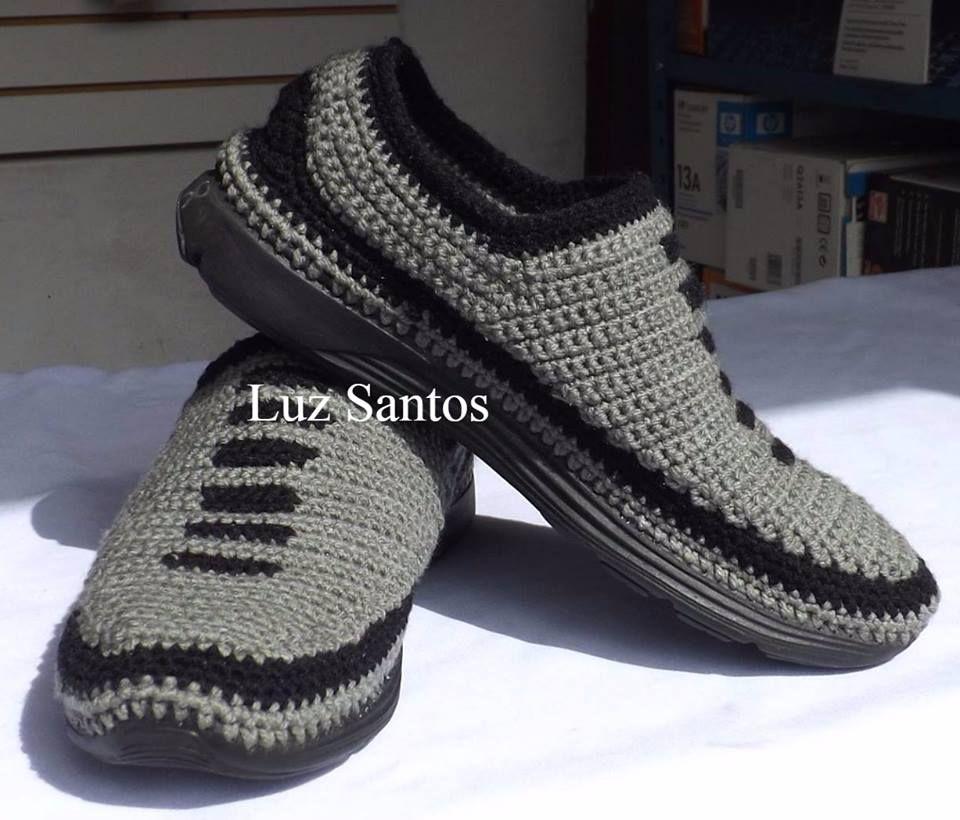 Tejidos Crochet Para Zapatos Caballero Bellos Descansar A Los thCsxBQdor