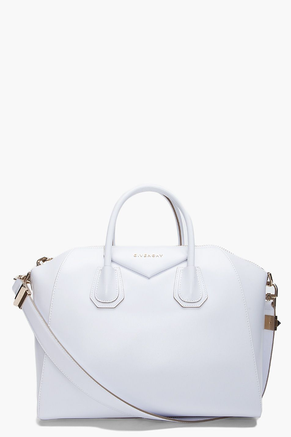 Givenchy White Medium Antigona tote - A white whimsical dream ... 7a2b76e91409d
