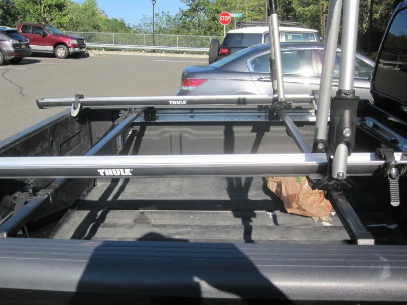 Custom Thule Rack Using UtiliTrack Nissan Frontier
