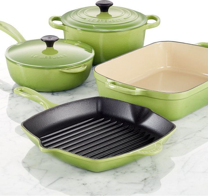 Pin for Later: 2015 POPSUGAR Gift Guide: 100 Presents For Everyone on Your List! Cookware Set Le Creuset Cast Iron 6-Piece Cookware Set ($700)