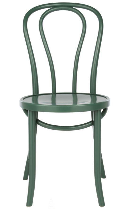 Beau Replica Thonet No 18 Bentwood Chair Timber   Dark Green