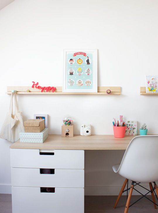 Peek it magazine deco bureau enfant office stuff pinterest diy - Comment ranger son bureau de chambre ...