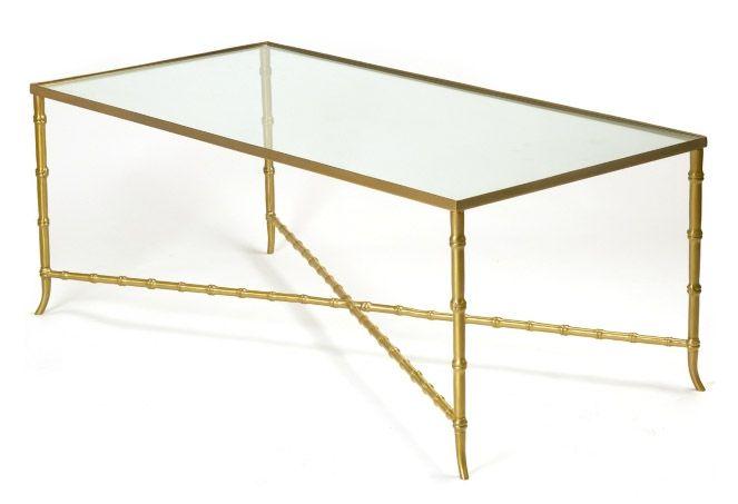 Brass Bamboo Coffee Table Dream