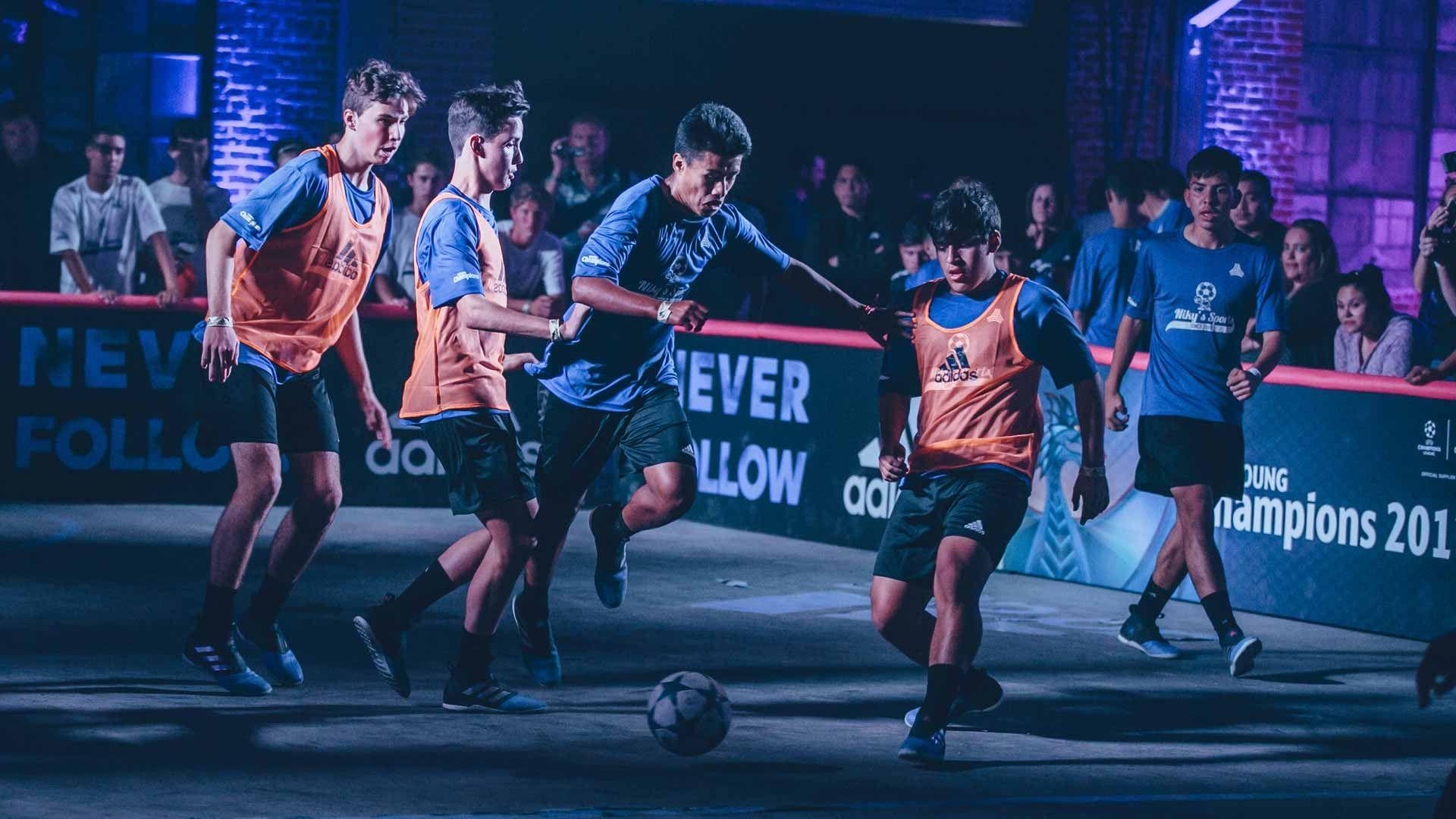 brecha mental Médula ósea  Adidas Tango League LA | Street soccer, Street football, Football tournament