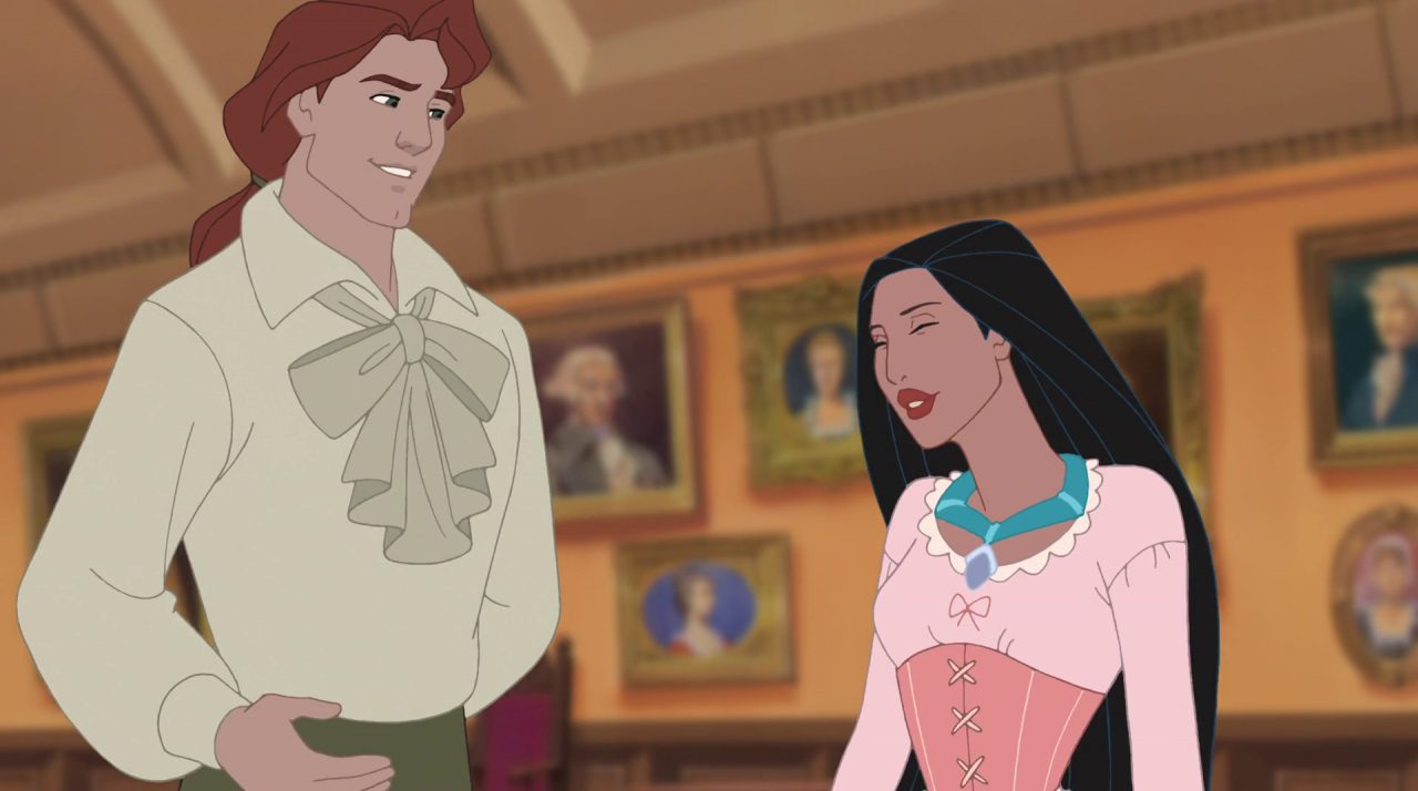 the story of pocahontas in the new world Pocahontas (1995) and the new world (2005) are radically different films one is a link in the one-a-year string of disney animated features that began with the little mermaid the other is the work of a director (terence malick), who's done four pictures in 25 years.