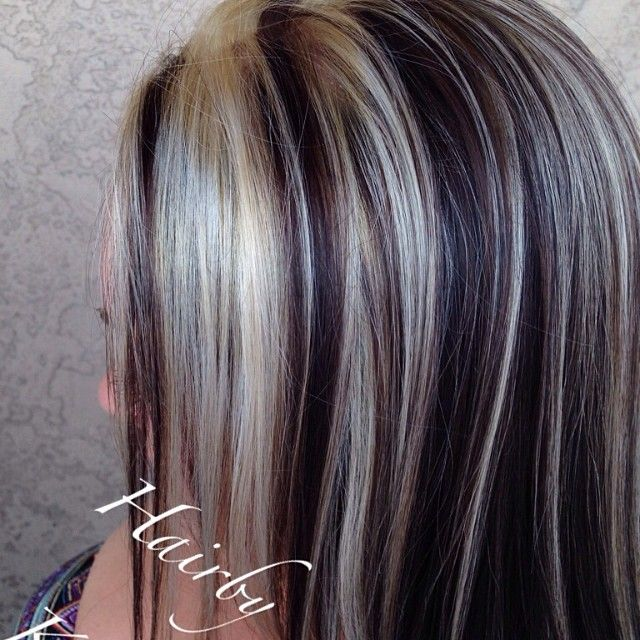 Highlights Lowlights Hair Pinterest Hair Coloring Hair Style