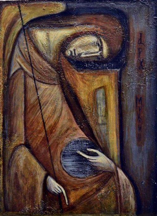 Archangel Michael by Basia Mindewicz