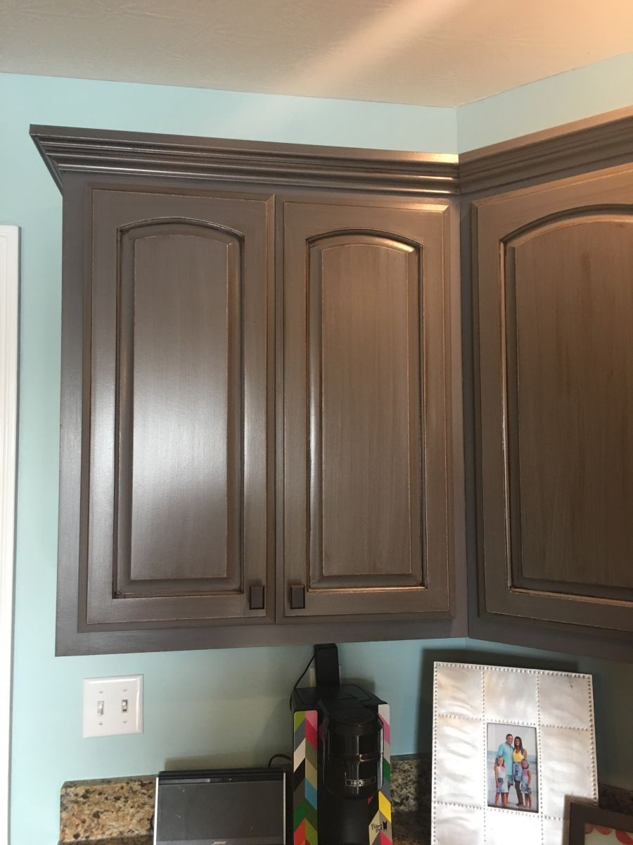 Let S Lighten It Up General Finishes 2018 Design Challenge Brown Painted Cabinets Dark Brown Cabinets Dark Stained Cabinets