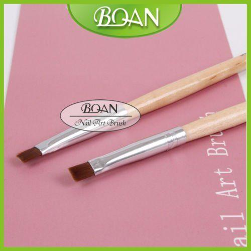 Bqan 1pc Nylon Gel Brush New Design Nail Art Brushes And Tools Nail