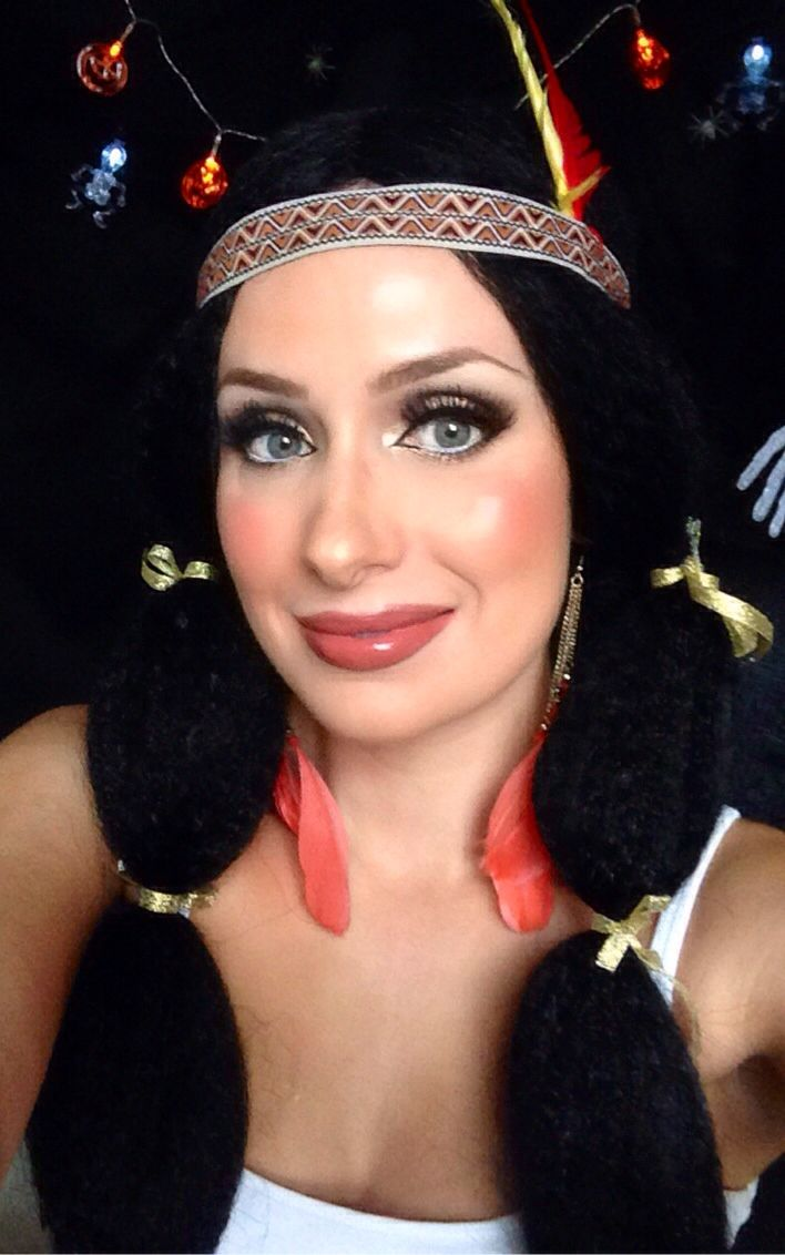 Pocahontas makeup tutorial perfect for halloween or fancy dress if pocahontas makeup tutorial perfect for halloween or fancy dress if you love disney all drugstore baditri Images