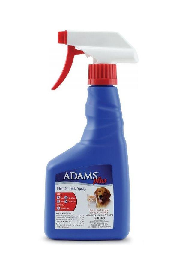 Adams Plus Flea and Tick Spray 16 ounce Flea and tick