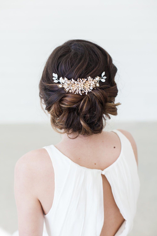 gilded shadows   bridal hair accessories & headpieces