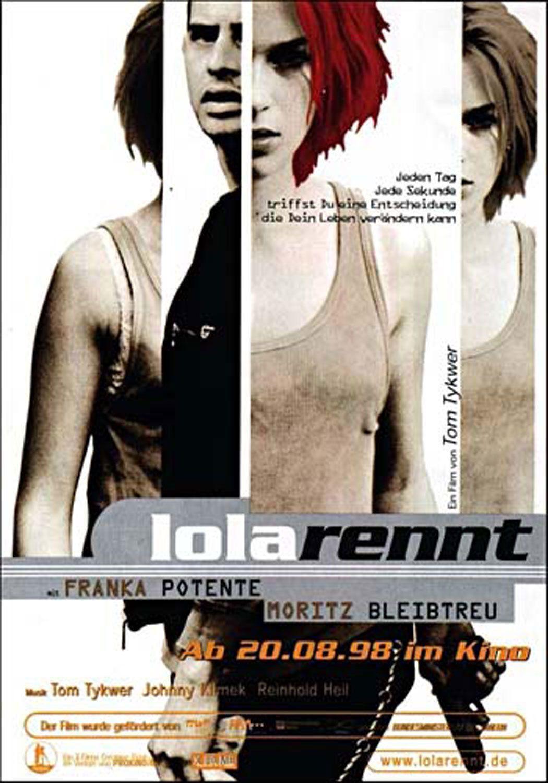 Lola Rennt. Before Franka Potente became a bigger movie star.
