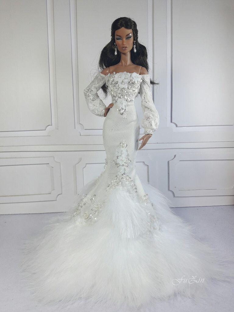 CYGNE BLANC | Barbie Prom Dress | Pinterest | Barbie, Croquis y ...