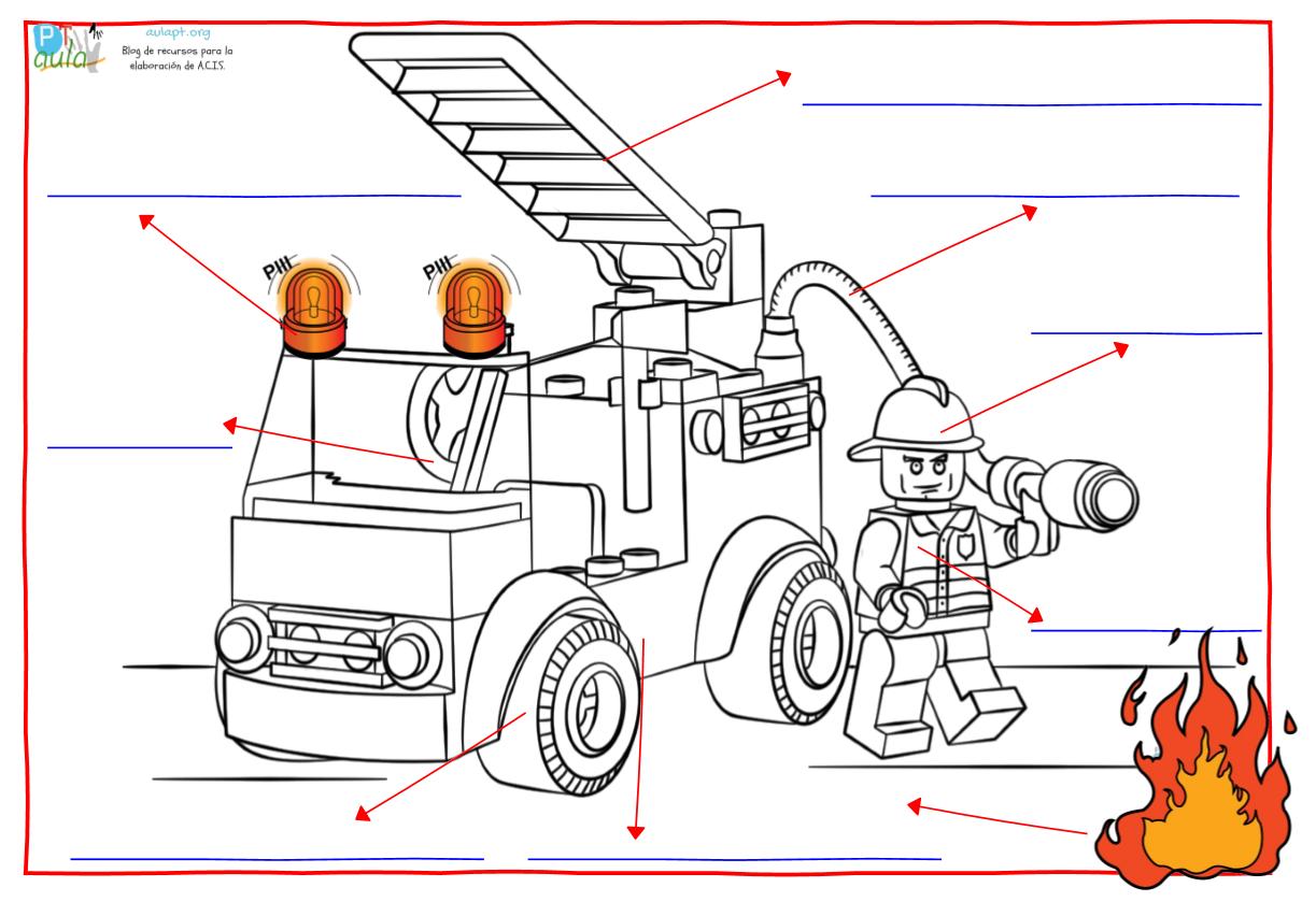 Aprendemos más sobre los bomberos. Vocabulario y comprensión lectora ...
