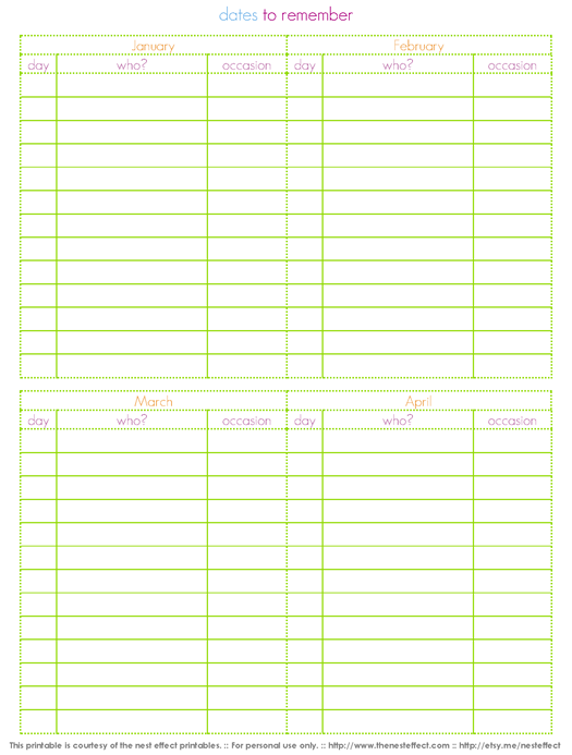 Office Birthday Calendar Urgup Kapook Co