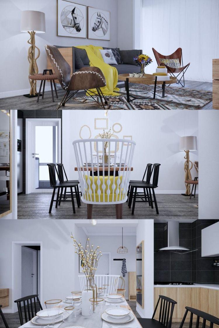 Apartment Free Sketchup Interior Scene , 3d free