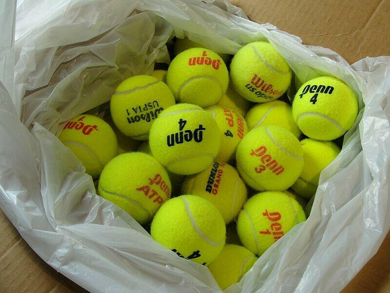 Advertisement Ebay 60 Penn Wilson Dunlop Used Tennis Balls Dogs Tennis Balls Tennis Tennis Drills