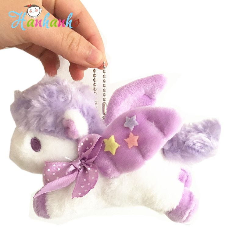 Puppy Makes Mischief Stuffed Animal, Cute Unicorn Plush Toy Small Pendant Stuffed Horse Unique Promotion Gift Baby Infant Girls Toys 12cm Unicorn Toys Baby Girl Toys Unicorn Plush