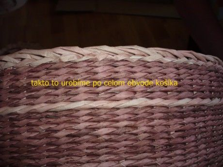 pletenie z papiera - Fotoalbum - Pletenie z papiera - návody - Jednoduchá uzávierka - P1050415.JPG
