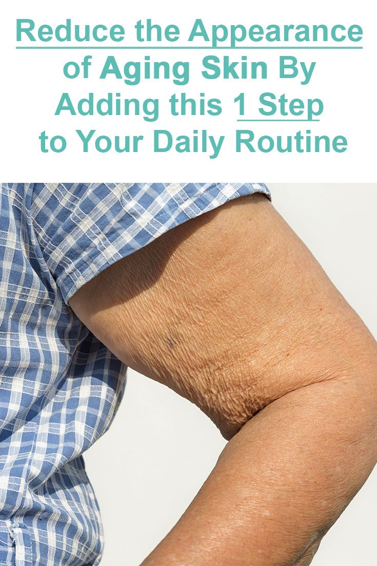 How to get rid of saggy skin under your arms
