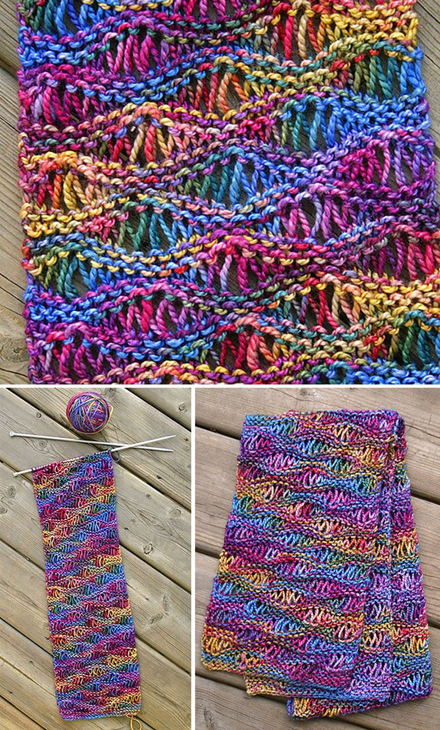 Easy Drop Stitch Scarf - Free Pattern in 2020 | Crochet ...