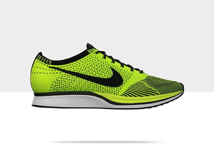 Men'S Flyknit Printed Hit The Road Running Shoes