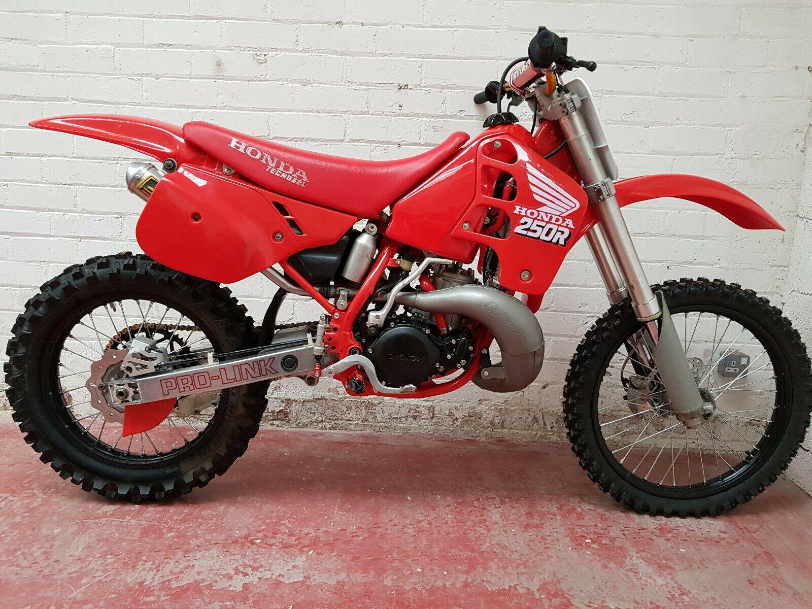 Honda Cr250 1989 Evo Motocross Bike Complete Restoration Mint Condition Ebay Motocross Bikes Honda Dirt Bike Honda