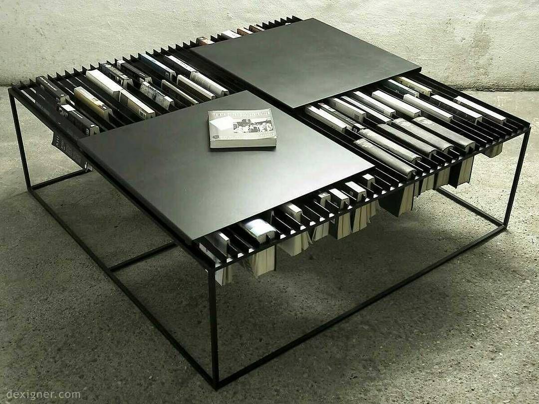 Bookshelf Of The Day: A Coffee Table Bookshelf From U B Studio. Design By:  Omer Unal.