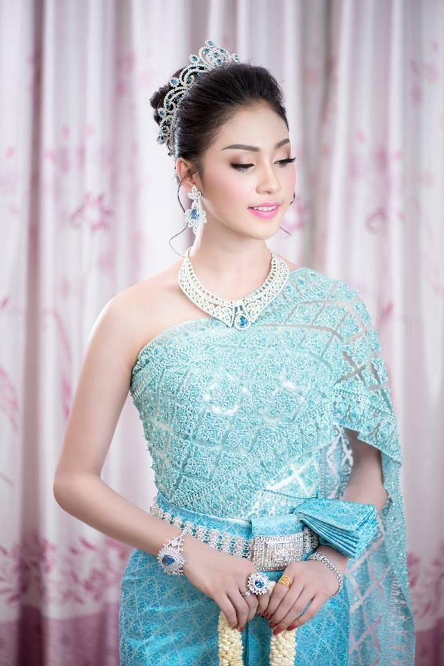 khmer wedding costume | Thai Dress | Pinterest | Khmer wedding ...