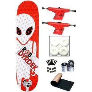 64aa1c1170fb6 Amazon.com: Alien Workshop Rob Dyrdek Soldier Red Complete ...