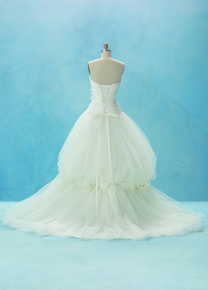 Disney Bridal | Wedding Gowns | Snow White 2012 design | back ...