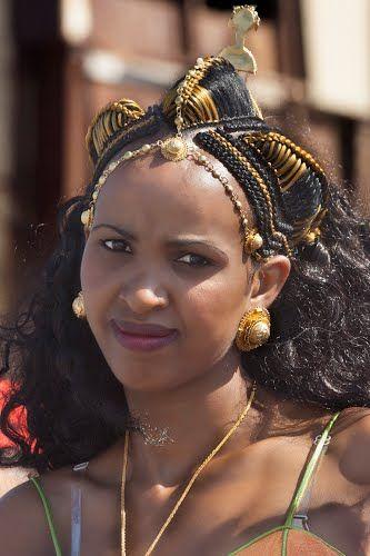 eritrean lady wedding party