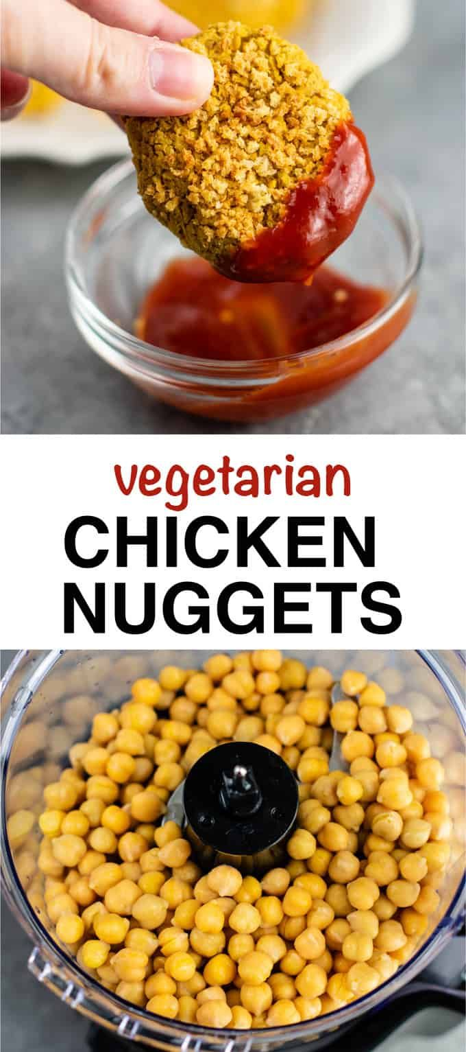 Vegetarian Chickpea Nuggets Recipe - Build Your Bite
