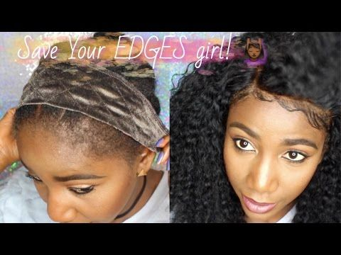 Save Your Edges How To Install Lace Frontals No Sew No Glue No