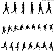 Image Result For Silhouettes Figures Walking Silhouette People Silhouette Vector Human Figure